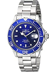Invicta Men's 9308SYB 'Pro Diver' Stainless Steel Watch with Silver-Tone Link Bracelet