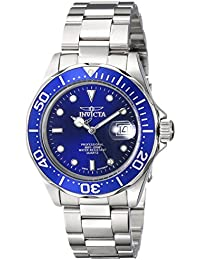 "Men's 9308SYB ""Pro Diver"" Stainless Steel Watch with Silver-Tone Link Bracelet"