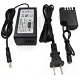 Gonine DMW-DCC12 AC Power Adapter DMW-AC8 Plus DC Coupler Kit (PANASONIC BLF-19 Battery Replacement) for PANASONIC DMC-GH3 DMC-GH4 DMC-GH3K DMC-GH4K DC-GH5 and Sigma SDQ SDQH Digital Camera