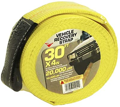 "Keeper 02942 30' x 4"" Recovery Strap by Keeper"