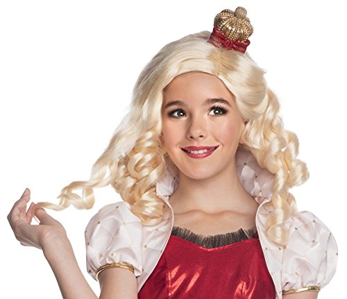 Rubies Ever After High Child Apple White Wig with Headpiece - Apple White Wig