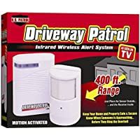 Driveway Patrol Garage Motion Sensor Alarm Infrared Wireless Alert Secure System Trending Now