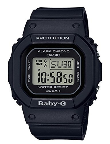 Casio BGD560-1 Baby G Women's Watch Black 44.7mm - Square Operation Hours One Of