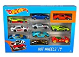 Hot Wheels 10 Car Pack (Styles May Vary)  [Amazon Exclusive]
