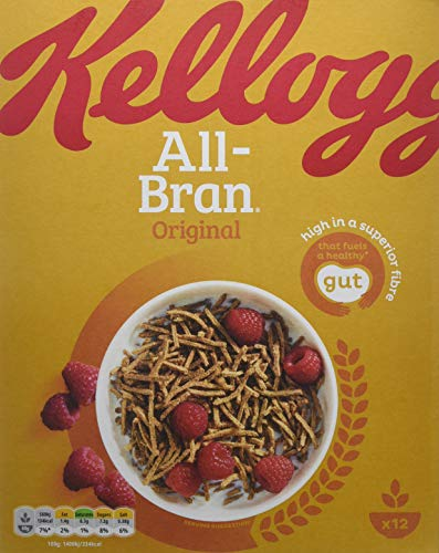 All-Bran Cereal & Muesli ,500 g, Pack of 6