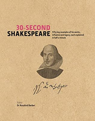 book cover of 30-Second Shakespeare