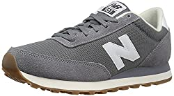 New Balance Men's Ml501 Sneaker, Greywhite, 7.5 D Us