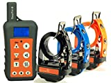 EASYPET 1200M Remote Dog Training Collar System/Rechargeable Waterproof Shock Collar for Dogs of (Small, Medium and Large Dogs)