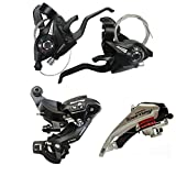 Shimano 7 Speed Group Set Mountain Bike Shifter Lever ST-EF51 3x7Speed+Front Derailleur FD-TX50+Rear Derailleur RD-TY300