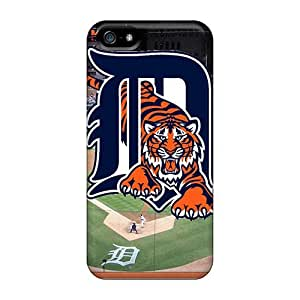 Jamesler Fashion Protective Detroit Tigers Case Cover For Iphone 5/5s