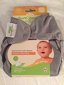 BumGenius Elemental All-in-One Cloth Diaper - Armadillo