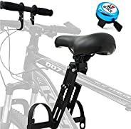 Gialer Kids Bike Seat and Handlebar Accessory Combo Pack Complete Set, Front Mounted Bicycle Seats for Childre
