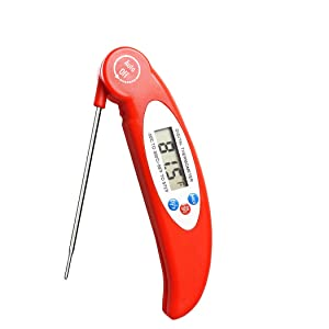 Digital Meat Thermometer BBQ Grill, Electronic Thermometer, Super Long Probe for Kitchen Cooking & Candy Smoker Fry Food Milk Yoghourt
