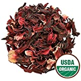 DualSpices Hibiscus Flower Tea 1 Pound (200 Cups,7 Cents/Cup) Herbal Tea. Organic