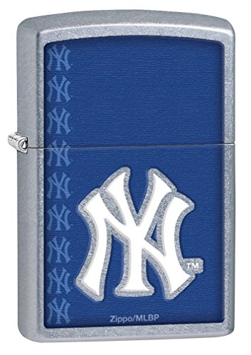 Zippo MLB Yankees Street Chrome Lighter ()