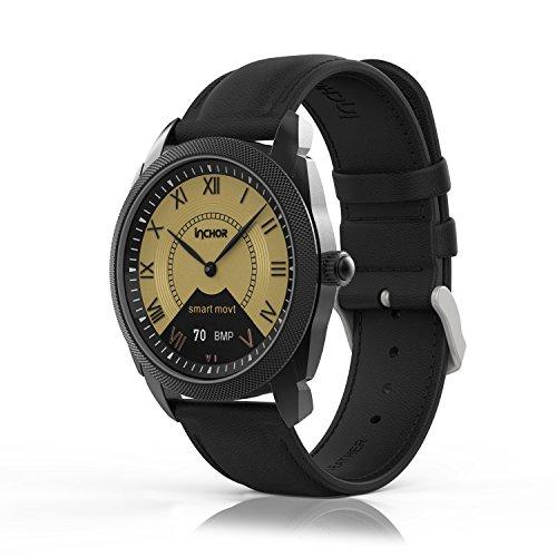 Ocamo Bluetooth 4.0 Waterproof Smart Watch Heart Rate Blood Pressure Monitor Sleep Fitness Tracker Pedometer Health Bracelet by Ocamo