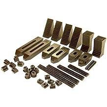 T-Slot Nuts E: 1 2 Pcs. TECO Brand 1//2-13 Thread x 5//8 Table Slot F: 1-1//8 C: 5//8 D: 11//32