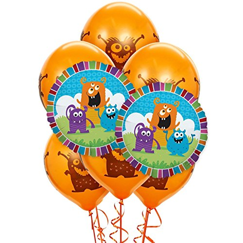 Monsters 8 pc Balloon Kit -