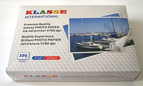 Premium Glossy Inkjet Photo Paper - 6