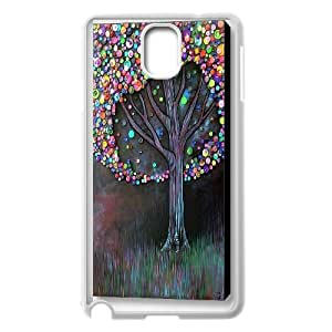 Unique Phone Case Pattern 18Love Tree Pattern- For Samsung Galaxy NOTE4 Case Cover