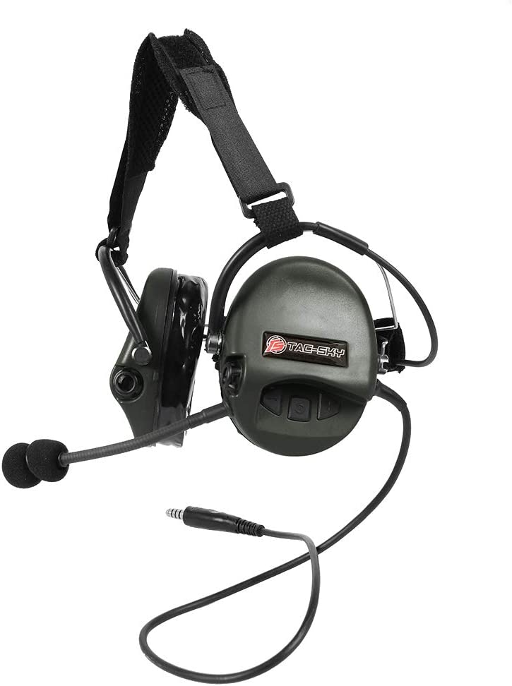 MSA SORDIN Tactical 4 Style Noise Cancellation Headset for CS Airsoft Paintball