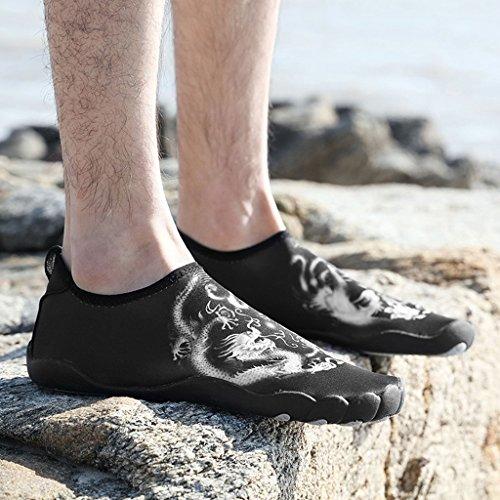Cen De Capa Zapatos Creek Goma Masculino De Zapatos De Pareja Snorkel De Zapatos De Superior Antideslizante Suela Aire Libre De De Tela Aire De Estiramiento Natación Modelos Playa Zapatos Buceo 1 Al Zap qvPwEHPnC