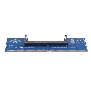 vanpower DDR4 - Tarjeta adaptador de memoria RAM SO-DIMM a DIMM de ...