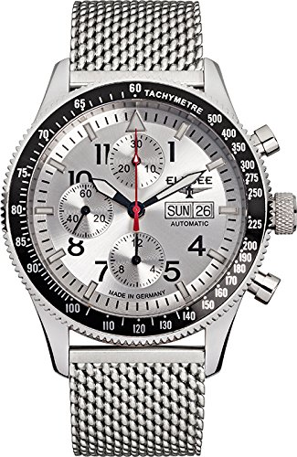 ELYSEE Men's 80530MSILVER Executive-Edition Analog Display Automatic Self Wind Silver Watch