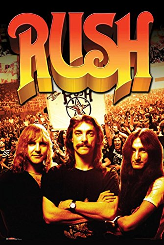 Rush- Band And Fans Poster
