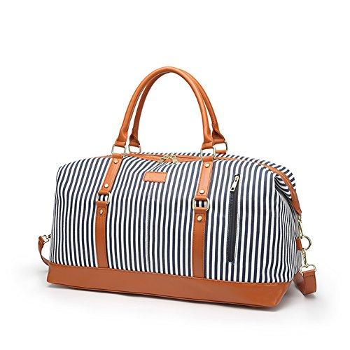 Women Weekender Bag,Large Capacity Canvas Travel Duffel Tote Bag Oversized...