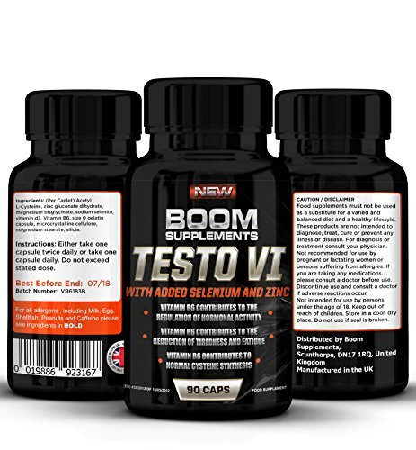 Testosterone Boosters - #1 Proven Testosterone Boosting Supplement For Men And Women* Formerly