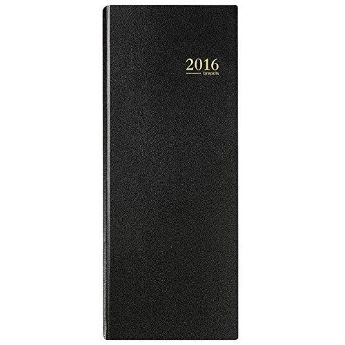 39 lignes Journalier Agenda de la Banque Janv//D/éc 2019 en 2 volumes 15x33cm noir BREPOLS Jupiter Banquier