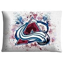 Pillow Colorado Avalanche Comfort Zippered Throw Pillow Case Cotton Polyester 16x24 inch 40x60 cm