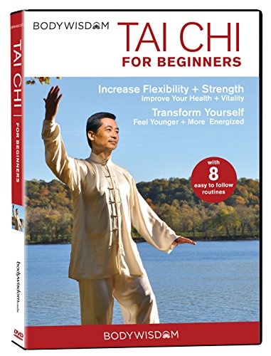 Tai Chi For Beginners DVD: 8 Tai Chi Beginner Video Workouts. Easy Tai Chi Routines. includes Gentle Tai Chi for Seniors to increase Strength, Balance & Flexibility
