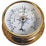 Trintec Omni Collection Brass Aneroid Barometer Marine Nautical Dial OMNI-04