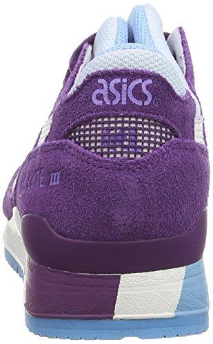 white lyte Baskets Iii Femme purple Violet Basses Gel 3301 Asics vq8x77