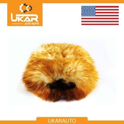 Natural Lambswool Car Wash Mitt Glove Premium Quality Plush Deep Pile Mammoth Part# 6126 (5026)