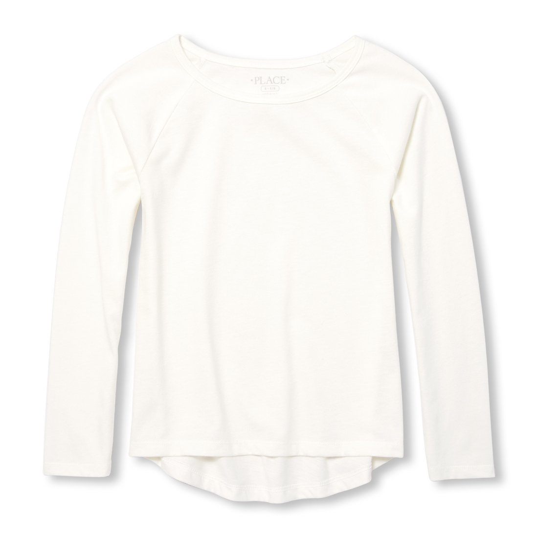 The Children's Place Big Girls' Long Sleeve Solid Layering Top The Children' s Place 2111102