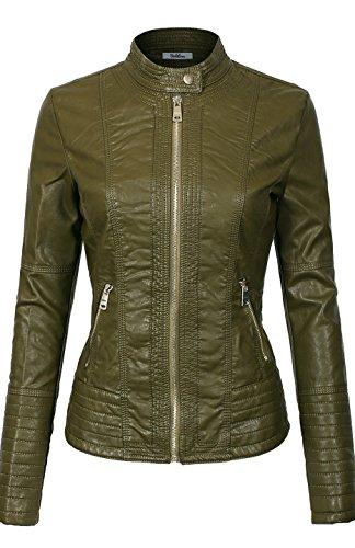 Leather Bike Jacket - 7