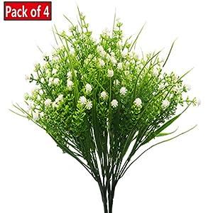 JWCTECH Artificial Plants Flowers Artificial Plants Greenery Artificial Flowers 6