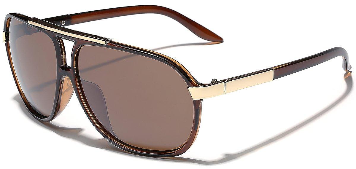 32d5d0c91b2b Amazon.com  Classic 80s Fashion Aviator Sunglasses Retro Vintage Men s  Women s Glasses (Black