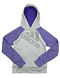 Adidas Big Girls Ultimate Pullover Performance Logo Hoodie