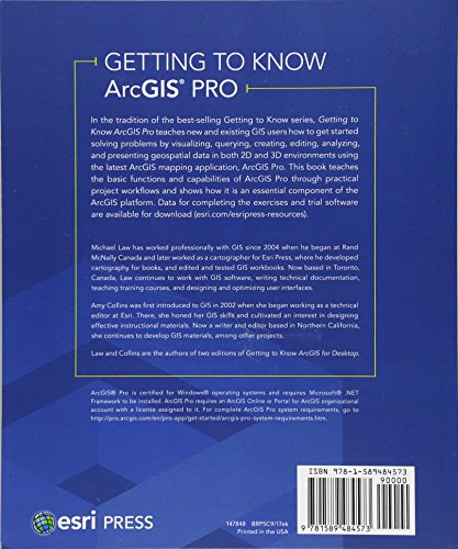 Getting to Know ArcGIS Pro: Second Edition Paperback – March