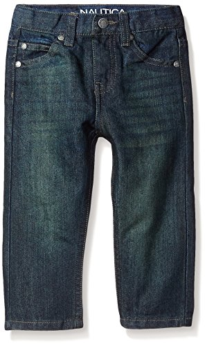 Boys Dark Blue Denim Jeans - 5