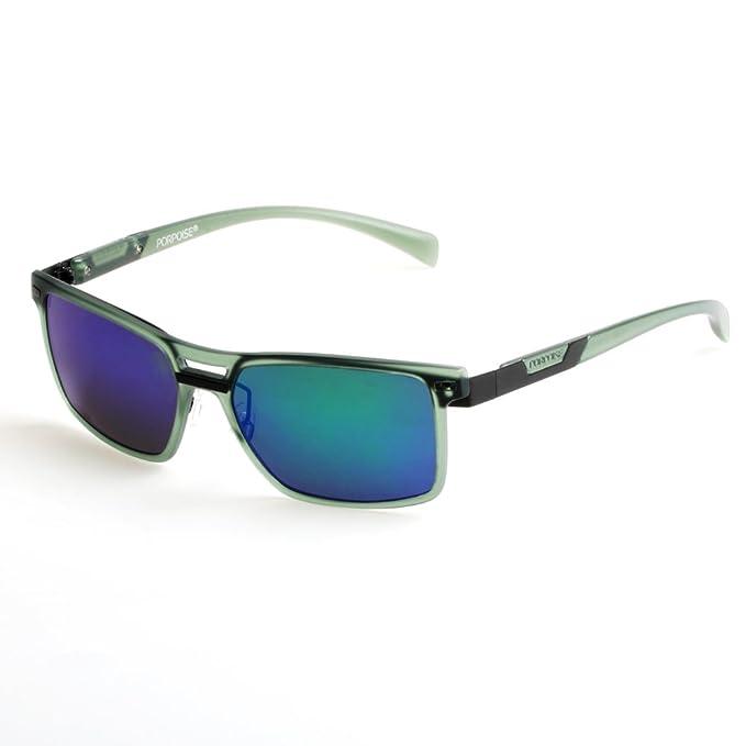 Amazon.com: Marsopa la moda anteojos de sol polarizadas con ...