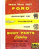 bishko automotive literature 1953 1954 1955 1956 1957 Ford Body Part Numbers List Catalog Manual Interchange