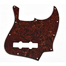 KAISH Vintage Tortoise Jazz J Bass Pickguard for USA/Mexican 4 String Fender Jazz Bass