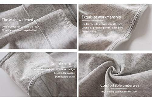 fe0290b1b22a Shentukeji Women's Cotton Underwear Pregnancy Postpartum Briefs Seamless  Tummy Control Underwear