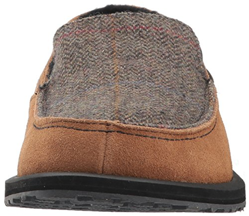 Woolrich Mens Austin Potter Ii Moccasin Chicory / Tweed Wool