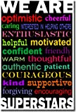 We Are Superstars - Classroom Motivational Poster